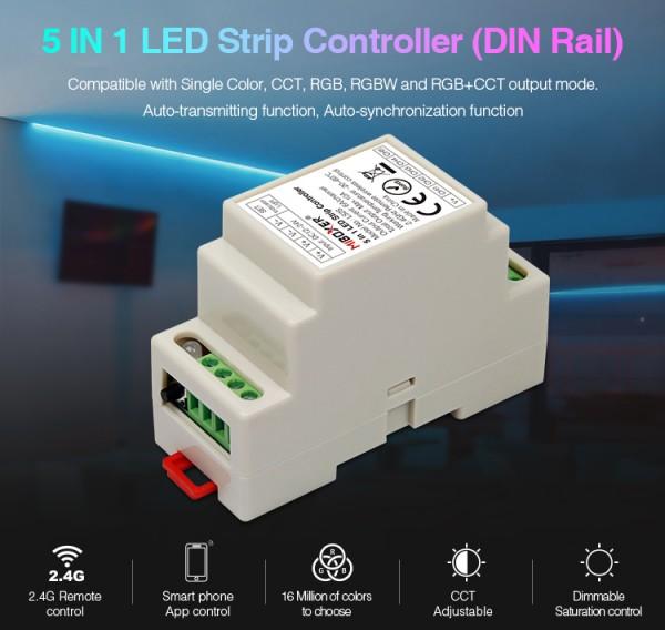 Synergy 21 LED Controller RGB-WW (RGB-CCT) DC12/24V Strip/Panel 5in1*Milight/Miboxer*
