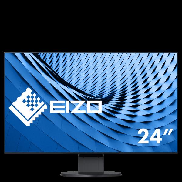 """Eizo FlexScan EcoView UltraSlim EV2451-BK Monitor schwarz 24""""Zoll, IPS-Panel"""