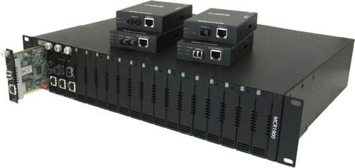 Perle Medien Konverter 1000 SC/SC Multimode