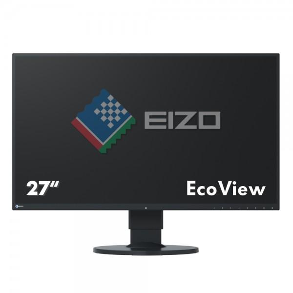 """Eizo FlexScan EcoView UltraSlim EV2750-BK Monitor schwarz 27""""Zoll, IPS-Panel"""