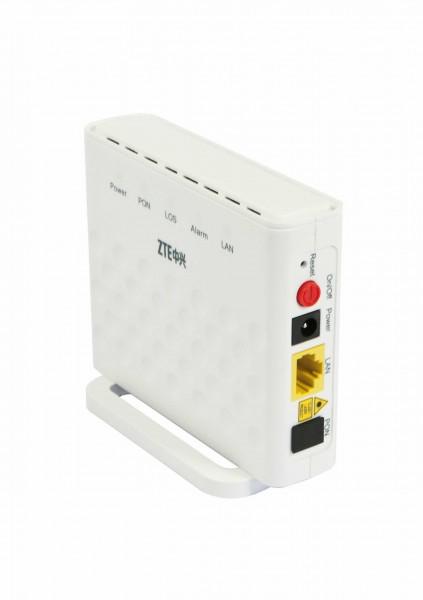 ZTE FTTH GPON Bridge Modem F601 - 1x GPON Eingang - 1x RJ-45 Gigabit Ethernet Port