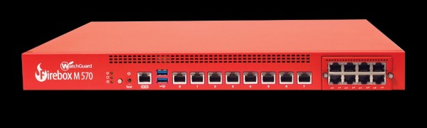 WatchGuard Firebox M570 with 1-yr Basic Security Suite