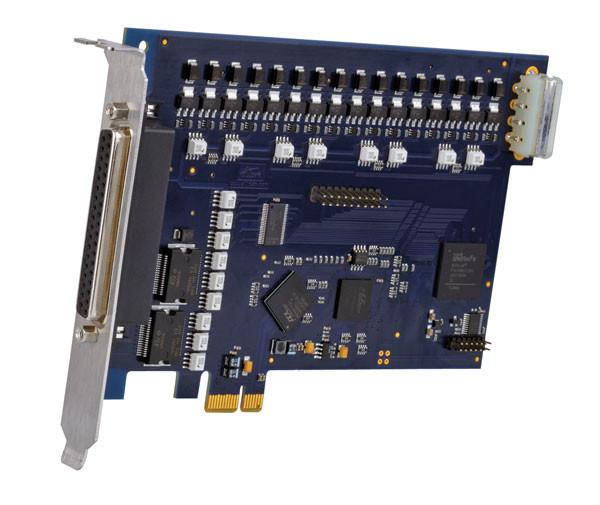 ALLDAQ ADQ-10-PCIe / Optoisolierte PCI-Express-Digital-I/O-Karte, 16 DI, 16 DO, 16 TTL-DIO
