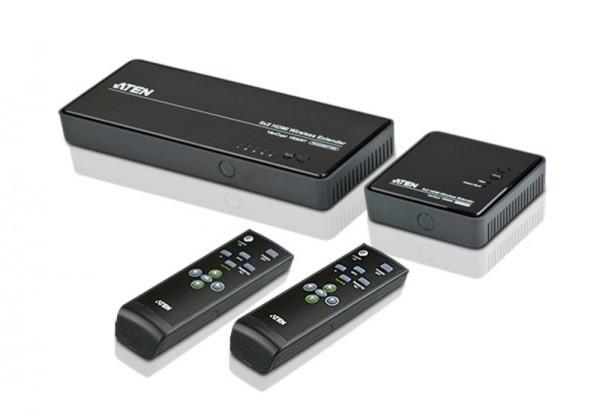 Aten Video-Extender, wireless, HDMI, 5xInput,
