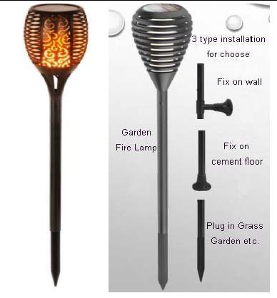 150531 Synergy 21 Led Flame Serie Solar Garten Lampe Led Garten