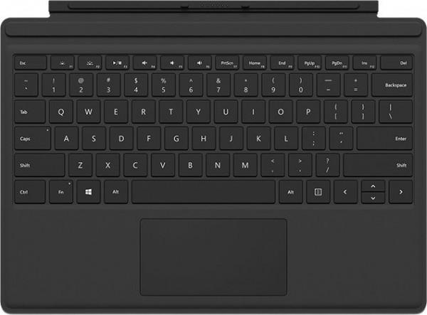 MS Surface Zubehör Go Type Cover *schwarz* (DE/AT)