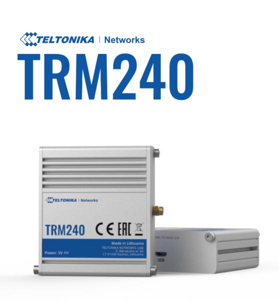 Teltonika · Modem · TRM240 · 4G-LTE