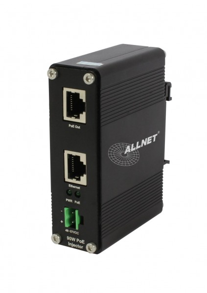 ALLNET ALL-PI2012P-90W / PoE Injector Industrial 1G TX -> 1G