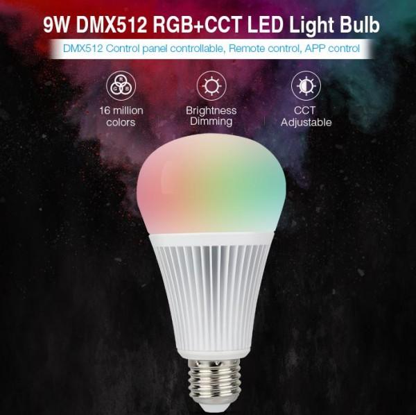153409 Synergy 21 LED Retrofit E27 9W RGB WW Lampe DMX