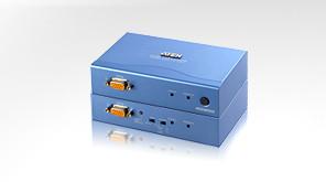 Aten KVM-Extender, 300mtr.1xPC, 2xMonitor, PS/2, VGA,