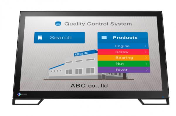 """Eizo DuraVision Touch Monitor FDF2382WT-BK schwarz 23""""Zoll, IPS-Panel"""