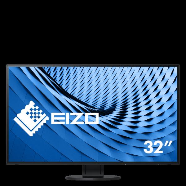 "Eizo FlexScan EcoView 4K UHD EV3285-BK Monitor schwarz 31,5""Zoll, IPS-Panel"