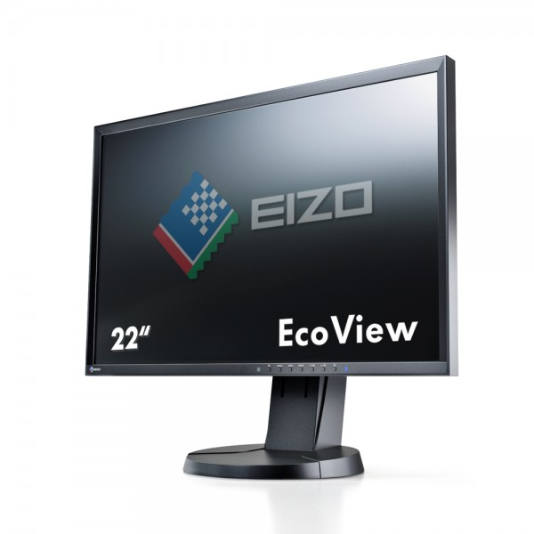 "Eizo FlexScan EcoView EV2216WFS3-BK Monitor schwarz 22""Zoll, TN-Panel"