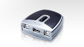 Aten USB-Switch 2-fach,
