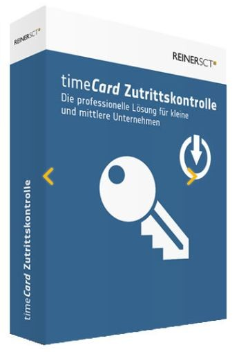 REINER SCT timeCard 6 Zutrittskontrolle Lizenz Erweiterung 50 User - ESD