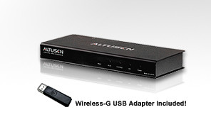 Aten Video Wireless Switch, Virtual VNC Console