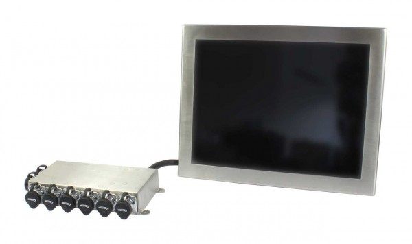 ALLNET AIO PC IP67 industrial stainless steel, 15 Zoll Touch