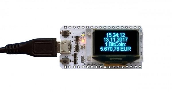 148742 - ALLNET 4duino IoT WLAN Display - ESP32 Mod  w 4