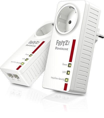 AVM Fritz!Powerline 1220E Set - (Packung mit 2)