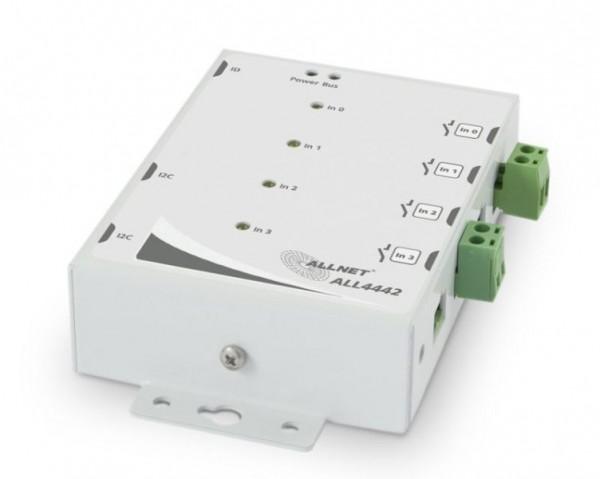 ALLNET ALL4442 / contact input 4-port in metal case